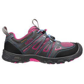 Keen Oakridge Low WP Shoes Youth Magnet/Very Berry